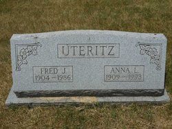 Anna L <I>Leasure</I> Uteritz