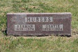 """Gertrude """"Gertie"""" <I>VanZanten</I> Hubers"""