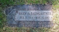 Mary <I>Foley</I> Baumgartner