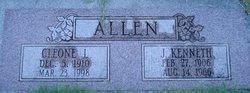 Leatha Cleone <I>Roberts</I> Allen