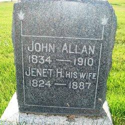 """Janet """"Jessie"""" <I>Harrower</I> Allen"""
