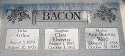 Clara Elveretta Bacon