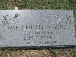 Marjorie Ellen <I>Stuart</I> Bond