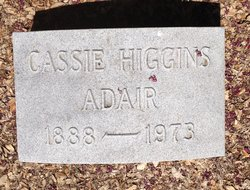 Cassie <I>Higgins</I> Adair