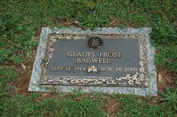Gladys Ruby <I>Frost</I> Bagwell