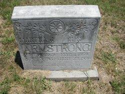 Martha Jane <I>Gotcher</I> Armstrong