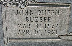 "John Duffie ""Dee"" Buzbee"