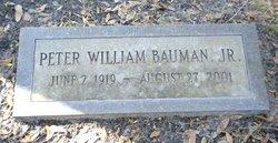 Peter William Bauman Jr.