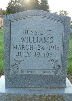 Bessie Winifred <I>Thurston</I> Williams