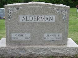Jennie B <I>Hughes</I> Alderman