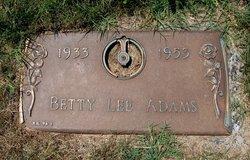 Betty Lee Adams
