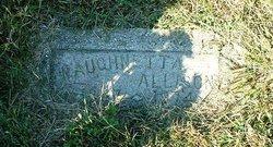 Waughnetta <I>Rutledge</I> Allison