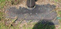 Sallie M Alford