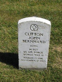 Clifton John Bernhard