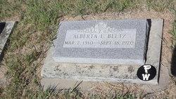 Alberta E. Beltz