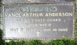 Vance Arthur Anderson
