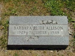 Barbara Ruth Allison