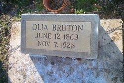 "Leolia W ""Olia"" <I>Barrett</I> Bruton"