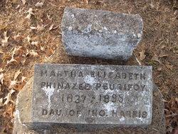 Martha Elizabeth <I>Phinazee</I> Peurifoy