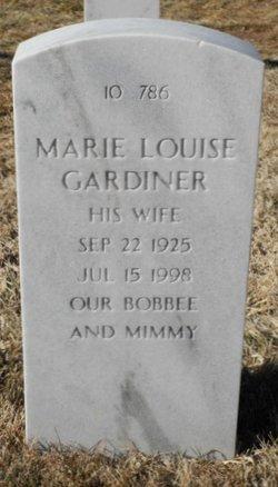 Marie Louise Gardiner
