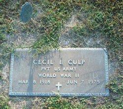 Cecil L Culp