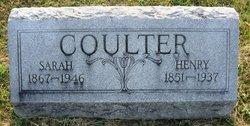 """Sarah Elizabeth """"Sally"""" <I>Cottrell</I> Coulter"""
