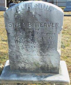 Silas Bidden Weaver