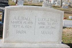 Lucy Jane <I>Yancey</I> Ball