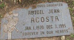 Abigail Jean Acosta