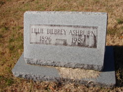 Lillie Barnes <I>Bilbrey</I> Ashburn