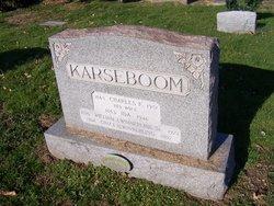 Charles F Karseboom