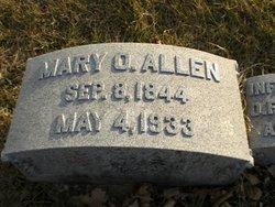 Mary O <I>Hendry</I> Allen