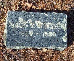 Alice V Winslow
