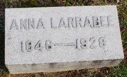 Anna Laurie <I>McNamara</I> Larrabee
