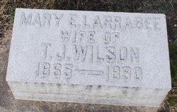 Mary E <I>Larrabee</I> Wilson