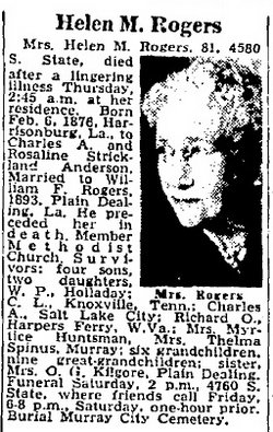 Helen M. <I>Anderson</I> Rogers