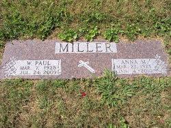 "Anna Mae ""Anne"" <I>West</I> Miller"