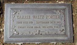 Carrie Christine <I>Waltz</I> Porter