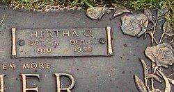 Hertha Oakley <I>Winslow</I> Archer