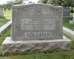 Gertrude C. Adelman