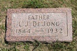 """Lieuw J """"Leo"""" DeJong"""
