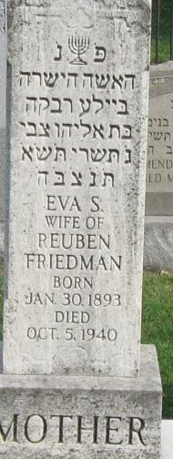 Eva S Friedman