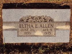 "Eltha Eveleigh ""Anna"" <I>Bantau</I> Allen"