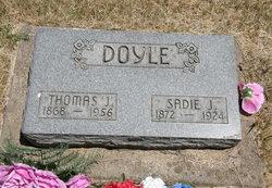 Sadie J <I>Porterfield</I> Doyle