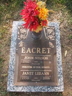Janet LeeAnn <I>Foster</I> Eacret