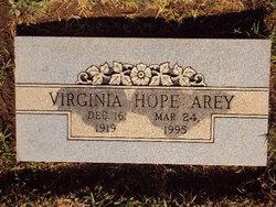 Virginia Hope <I>Allen</I> Arey