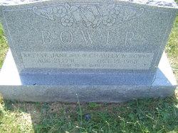 Betty Jane <I>Hattabaugh</I> Bower