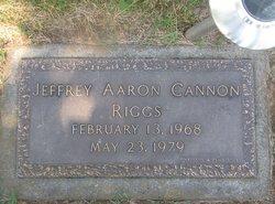 Jeffrey Aaron Cannon Riggs