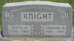 Betty M. <I>Gravitt</I> Knight