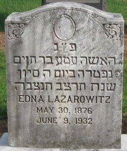 Edna Lazarowitz